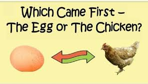 Image result for The chicken or the egg first?