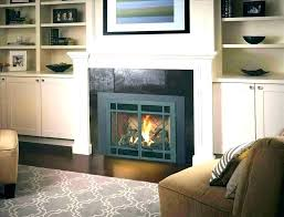 ventless gas fireplace inserts