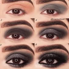 grunge eye makeup step by step