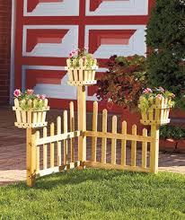 Corner Planter Fences Fence Design Corner Garden Yard Decor