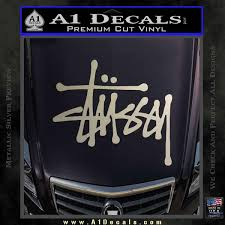 Stussy Clothing Logo Decal Sticker A1 Decals