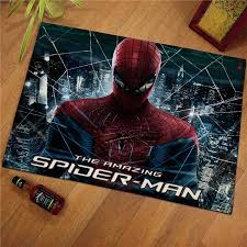 60x40cm Disney Spiderman Children Kids Floor Mats Print Bathroom Kitchen Carpets Children Doormats For Living Room Kids Rugs Baby Gyms Playmats Aliexpress