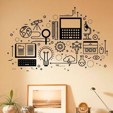 Computer Technology Wall Decal Vinyl Sticker Science Education Home School Classroom Art Decor Self Adhesive Murals Kids Wall Stickers For Bedrooms Kids Wall Stickers Removable From Joystickers 12 27 Dhgate Com