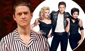 Aaron Tveit - who starred with Vanessa Hudgens in Grease Live ...