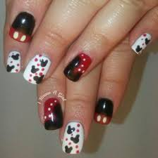 Mickey mouse classic gel manicure, Health & Beauty, Hand & Foot ...