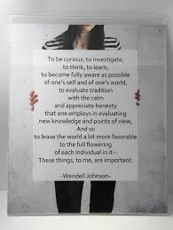 Wendell Johnson Quote - Printable Poster 8x10 - Easybee