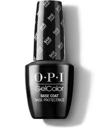 gelcolor base coat opi