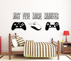 Gamer Wall Decal Video Games Wall Sticker Controller Wall Etsy In 2020 Wall Decals Room Wall Art Disney Wall Decals