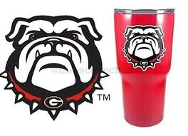 Uga Georgia Bulldogs Mascot 3 Premium Vinyl Decal Sticker For Tumbler Cup Car 4 99 Picclick
