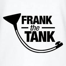 frank the tank v neck t shirt by