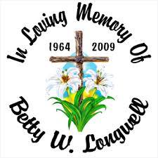 Cross Lilies Custom Memorial Die Cut Vinyl Car Decal Full Color Printed Stickers In Loving Memory Car Window Decals