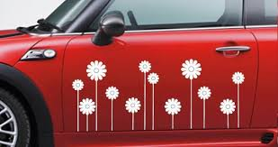 Daisies Car Decal Dezign With A Z