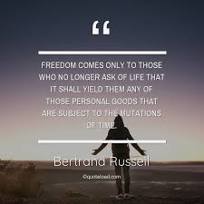 dom comes only to those who bertrand russell about dom