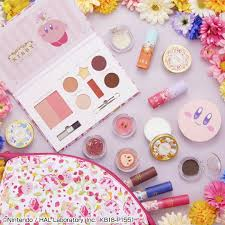 kirby themed cosmetics lineup ichiban