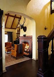old world style for a tudor revival