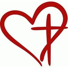 Heart With Cross Decal Cross Decal Heart Decal Decal Gifts Car Decal Truck Decal Tumbler Decal Design Store Silhouette Design Vinyl Crafts