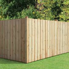 Unbranded 6 Ft X 8 Ft Pressure Treated Pine Dog Ear Board On Board Fence Panel 105676 The Home Depot Wood Fence Fence Panels Fence