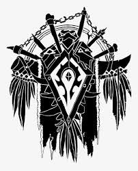 Horde Crest Vector World Of Warcraft Horde Decal Transparent Png 743x935 Free Download On Nicepng