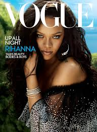 rihanna s vogue cover the singer on