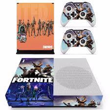Fortnite Theme Skin Sticker Decal For Xbox One Slim