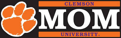 Clemson Mom Decal Clemson Vinyl Decals Decals