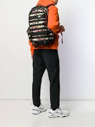 green nike rpm printed backpack for men