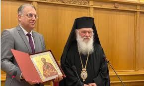 Στη ΔΙΣ ο υπουργός Εσωτερικών Τ. Θεοδωρικάκος (Βίντεο) - Ορθοδοξία News  Agency