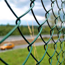 Tata Wiron Gi Wire Bestfence Pvc Coated Chain Link Rs 13 60 Square Feet Id 13458275362