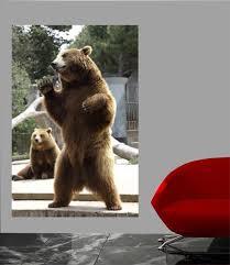 Standing Bear Wall Decal