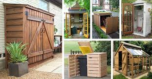 27 best small storage shed projects
