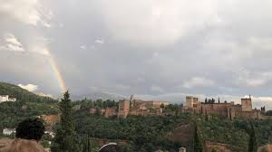 SMU Abroad - Adele Carter World Languages (Spanish, Arabic), Music IES  Granada A view of La Alhambra right after heavy rain. | Facebook