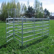 1 8m 2 1m Durable Galvanized Steel Oval Rails Australia Type Farm Fence Panel Livestock Cattle Yard Panel Buy Cattle Yard Panel Livestock Cattle Yard Panel Farm Fence Panel Product On Hebei