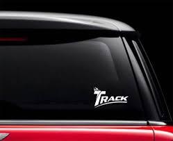 Track Classic Car Decal Bowlersdeals Com