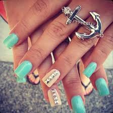 45 acrylic nail design for s