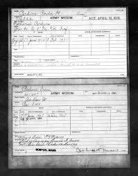 Ida (Hill) Perkins - Pension Record citing Death