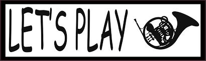 10in X 3in Let S Play French Horn Bumper Sticker Vinyl Music Car Decal Stickertalk