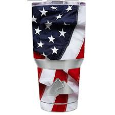 Skin Decal Vinyl Wrap For Ozark Trail 30 Oz Tumbler Cup Stickers Skins Cover 6 Piece Kit Us Flag America Proud Walmart Com Walmart Com