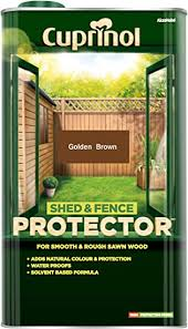 Cuprinol 5l Shed And Fence Protector Gold Brown Amazon Co Uk Diy Tools