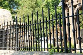 25 Wrought Iron Fence Design Ideas Photo Gallery Home Awakening