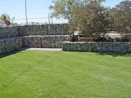 Gabion Walls How To Create Barriers In Your Desert Garden For Cheap