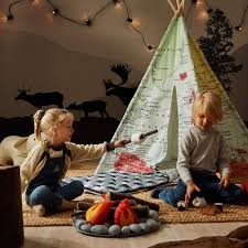 Huniihome Pretend Campfire For Kids Sensory Toys Play Learning Resou Wufair
