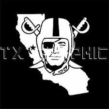 Oakland Raiders Sticker California Vinyl Decal Vehicle Graphic Custom Boat Car Ebay