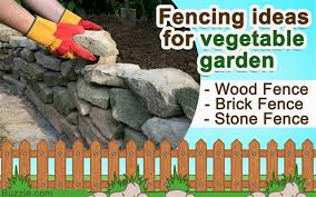 Fencing Ideas For Vegetable Gardens