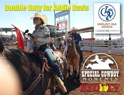 ADDIE DAVIS DOES DOUBLE DUTY SCM RFDTV... - Special Cowboy Moments ...