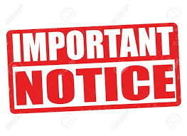 Image result for Important notice onschool closing
