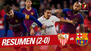 Resumen de Sevilla FC vs FC Barcelona (2-0) - YouTube