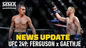 Tony Ferguson vs. Justin Gaethje ...