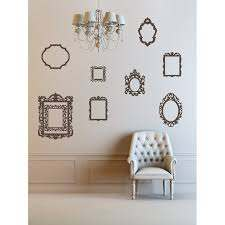 The Decal Guru Antique Picture Frames Wall Decal Reviews Wayfair