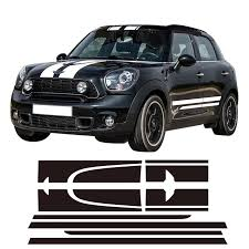 Car Racing Hood Side Trunk Engine Rear Side Stripes Sticker Body Kit Decal For Mini Countryman Cooper S Jcw Accessories Stickers For Stickers For Mini Cooperstickers Stickers Aliexpress