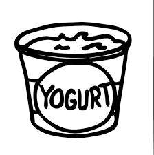 Image result for free images of yogurt